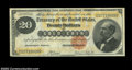 Large Size:Gold Certificates, Fr. 1178 $20 1882 Gold Certificate Choice About New. A ...