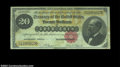 Large Size:Gold Certificates, Fr. 1178 $20 1882 Gold Certificate CGA Very Fine 25. This ...