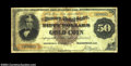 Large Size:Gold Certificates, Fr. 1192 1882 $50 Gold Certificate Very Fine. A newly ...