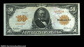 Large Size:Gold Certificates, Fr. 1198 $50 1913 Gold Certificate Extremely Fine. Well ...