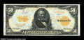 Large Size:Gold Certificates, Fr. 1199 $20 1913 Gold Certificate Choice About New. Broad ...