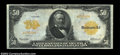 Large Size:Gold Certificates, Fr. 1199 $50 1913 Gold Certificate CGA-Extremely Fine 40. ...