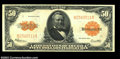 Large Size:Gold Certificates, Fr. 1200 $50 1922 Gold Certificate Extremely Fine. An ...