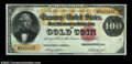 Large Size:Gold Certificates, Fr. 1214 $100 1882 Gold Certificate Choice New. This ...