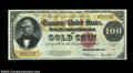 Large Size:Gold Certificates, Fr. 1215 $100 1922 Gold Certificate Choice About New. A ...
