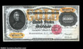 Large Size:Gold Certificates, Fr. 1225 $10,000 1900 Gold Certificate Gem New. From the ...