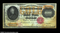 Large Size:Gold Certificates, Fr. 1225 $10,000 1900 Gold Certificate New. Well margined ...