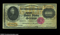 Large Size:Gold Certificates, Fr. 1225 $10,000 1900 Gold Certificate Very Fine. This non-...