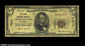 National Bank Notes:Alabama, Alexander City, AL - $5 1929 Ty. 1 The First NB Ch. # ...