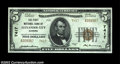 National Bank Notes:Alabama, Alexander City, AL - $5 1929 Ty. 2 The First NB Ch. # ...