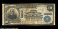 Rector, AR - $10 1902 Plain Back Fr. 632 The First NB Ch. # 10853 A just plain rare bank in large size, with the Kelly...