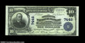 Washington, D.C. - $10 1902 Plain Back Fr. 624 The Commercial National Bank Ch. #7446 Just a few light bends on this f...