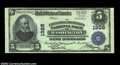 National Bank Notes:District of Columbia, Washington, DC- $5 1902 Plain Back Fr. 602 The Farmers & ...