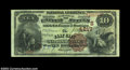 National Bank Notes:Kentucky, Clay City, KY - $10 1882 Brown Back Fr. 484 The Clay ...