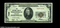 National Bank Notes:Kentucky, Middlesborough, KY - $20 1929 Ty. 1 The NB of ...