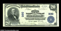 National Bank Notes:Maine, Lewiston, ME - $20 1902 Plain Back Fr. 650 FNB of ...