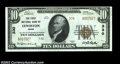 National Bank Notes:Maine, Lewiston, ME - $10 1929 Ty. 2 The First NB Ch. # 330...