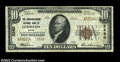 National Bank Notes:Maine, Lewiston, Maine Small Size Pair.Lewiston, ME - $20 ...