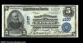 National Bank Notes:Maryland, Baltimore, MD - $5 1902 Plain Back Fr. 598 The Farmers & ...