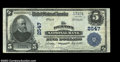 National Bank Notes:Maryland, Denton, MD - $5 1902 Plain Back Fr. 607 Denton NB Ch. #...