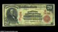 National Bank Notes:Maryland, Easton, MD - $20 1902 Red Seal Fr. 639 The Easton NB ...