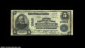 National Bank Notes:Maryland, Federalsburg, MD - $5 1902 Plain Back Fr. 602 The First ...