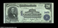 National Bank Notes:Maryland, Hagerstown, MD - $20 1902 Plain Back Fr. 650 The First ...