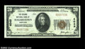 National Bank Notes:Maryland, Hagerstown, MD - $20 1929 Ty. 1 Second National Bank ...