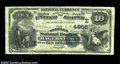 National Bank Notes:Maryland, Hagerstown, MD - $10 1882 Date Back Fr. 540 The Peoples ...