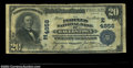 National Bank Notes:Maryland, Hagerstown, MD - $20 1902 Plain Back Fr. 655 Peoples NB ...