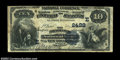 National Bank Notes:Pennsylvania, Bradford, PA - $10 1882 Value Back Fr. 577 Bradford NB ...