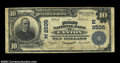National Bank Notes:Pennsylvania, Canton, PA - $10 1902 Plain Back Fr. 633 The First ...