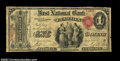 National Bank Notes:Pennsylvania, Clarion, PA - $1 Original Fr. 380 The First NB Ch. # ...