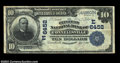 National Bank Notes:Pennsylvania, Connellsville, PA - $10 1902 Date Back Fr. 616 Citizens ...