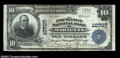 National Bank Notes:Pennsylvania, Marietta, PA - $10 1902 Plain Back Fr. 631 The Exchange ...