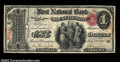 National Bank Notes:Pennsylvania, Mount Pleasant, PA - $1 Original Fr. 380 First National ...