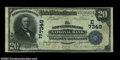 National Bank Notes:Pennsylvania, New Cumberland, PA - $20 1902 Plain Back Fr. 650 New ...