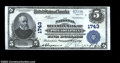 National Bank Notes:Pennsylvania, Philadelphia, PA - $5 1902 Plain Back Fr. 601 The ...