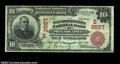 National Bank Notes:Pennsylvania, Philadelphia, PA - $10 1902 Red Seal Fr. 615 The Fourth ...
