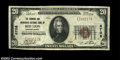 National Bank Notes:Pennsylvania, Red Lion, PA - $20 1929 Ty. 1 The Farmers and Merchants ...