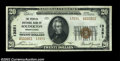 National Bank Notes:Pennsylvania, Souderton, PA - $20 1929 Ty. 2 The Peoples NB Ch. # ...
