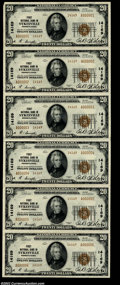 National Bank Notes:Pennsylvania, Sykesville, PA - $20 1929 Ty. 2 First NB Ch. # 14169 ...