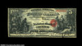Chester, SC - $5 Original Fr. 399 The NB of Chester Ch. # 1804 A newly discovered Serial Number 1 example which has nev...
