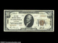 National Bank Notes:Tennessee, Clarksville, TN - $10 1929 Ty. 2 The First NB Ch. # ...