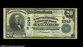 National Bank Notes:Tennessee, Knoxville, TN - $20 1902 Plain Back Fr. 654 East ...