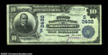 National Bank Notes:Tennessee, Morristown, TN - $10 1902 Date Back Fr. 617 FNB of ...