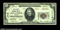 National Bank Notes:Virginia, Alexandria, VA - $20 1929 Ty. 2 The Citizens NB Ch. # ...