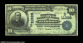 National Bank Notes:Virginia, Bedford, VA - $10 1902 Plain Back Fr. 632 The Peoples NB...