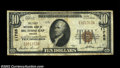 National Bank Notes:Virginia, Big Stone Gap, VA - $10 1929 Ty. 1 The First NB Ch. # ...