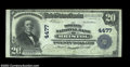 National Bank Notes:Virginia, Bristol, VA - $20 1902 Plain Back Fr. 653 The Dominion ...